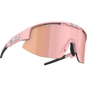 Bliz Matrix M12 Glasses matt powder pink/brown with rose multi